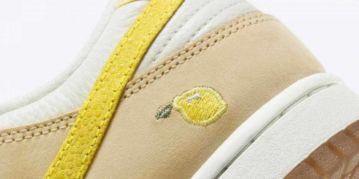 "Nike Wmns Dunk Low ""Lemon Drop"" 2021 New Arrival DJ6902-700"