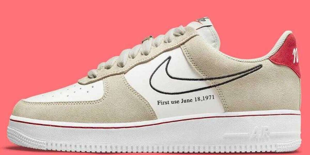Latest Nike Air Force 1 Low First Use Releasing With A Light Stone Treatment
